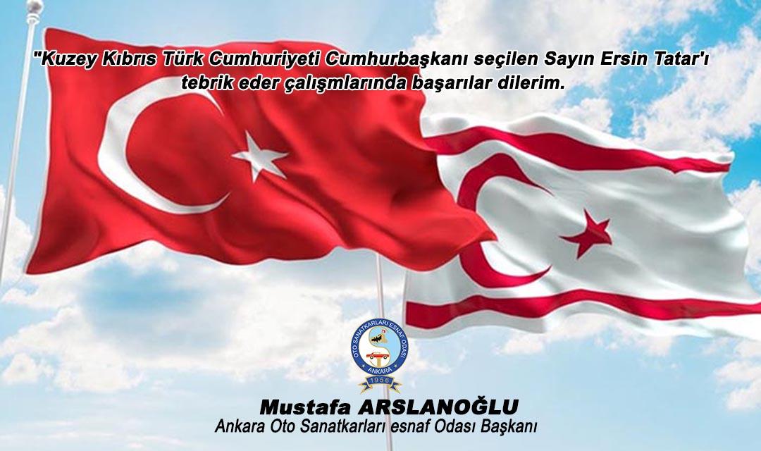 K.K.T.C Yeni Cumhurbaşkanı Ersin Tatar